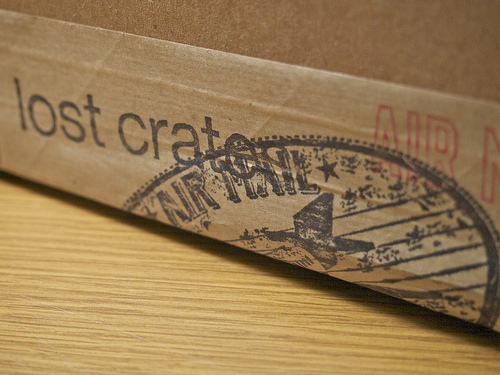 """My first """"crate"""""""