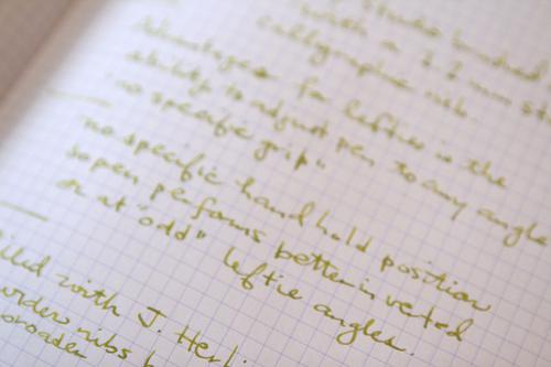 Close-up of writing