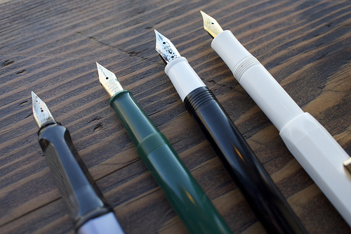 Close-up of nibs