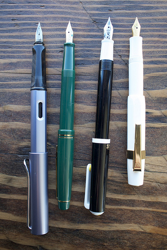 Modern Fountain Pen Stash