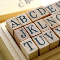 I love alphabet stamps. There is just something so…