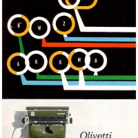 Olivetti Graphika Poster