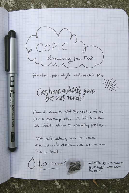 Copic Drawing Pen F02