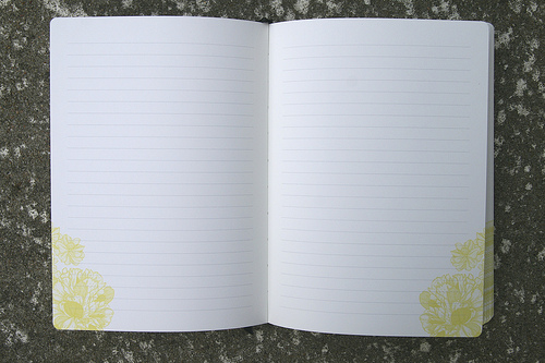 Think. Create. Record Premium Paperboard Journal