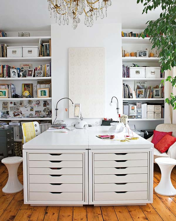 Home Office And Studio Designs: The Well-Appointed Desk
