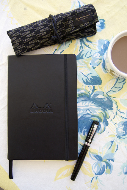 Rhodia Webnotebook Aka The Webbie Review The Well Appointed Desk