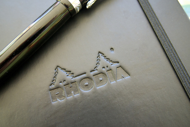 Rhodia logo on cover