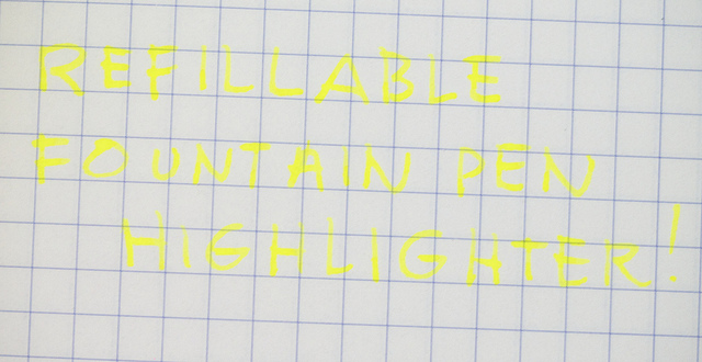 Kaweco BB Highlighter Fountain Pen