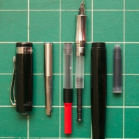 Ask The Desk: Converters for the Kaweco Student Fountain Pen