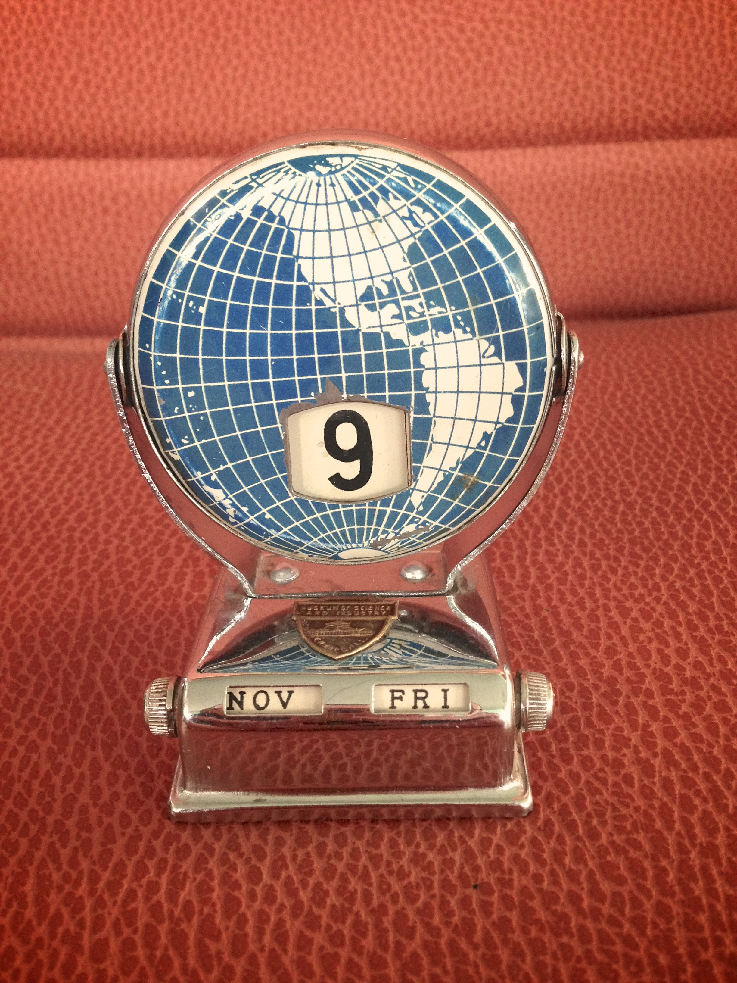 Vintage Perpetual Filp Calendar The Well Appointed Desk
