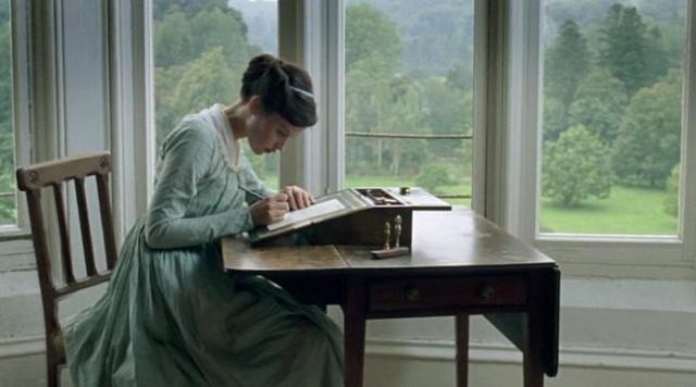 Catherine Moorland's writing desk
