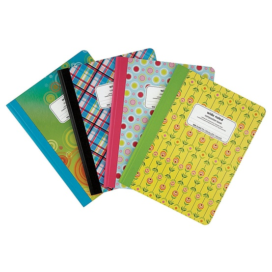 Bright Composition Books