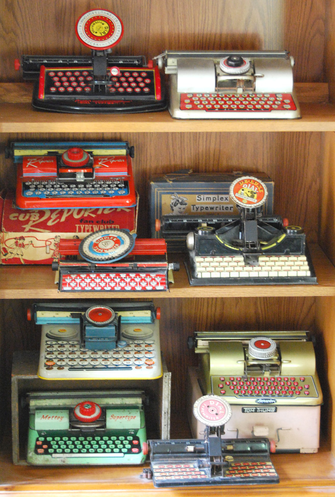 Vintage Toy Typewriters