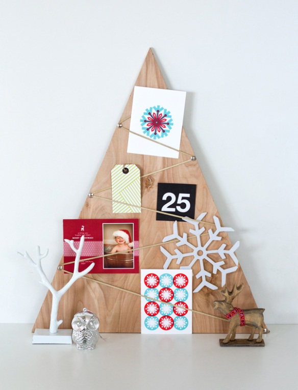 card tree holder