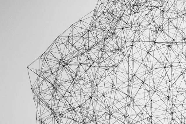 Pencil Lead Sculpture by Peter Trevelyan (via Present & Correct)