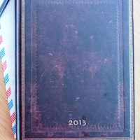 Paperblanks Weekly Planner 2013 Review
