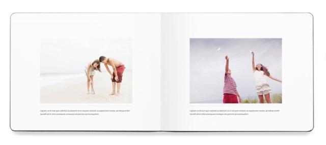 Moleskine Photo Book Interior Spread 1