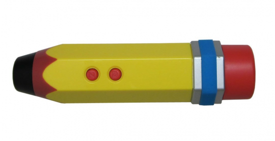 Pencil Micorscope (via Present & Correct)