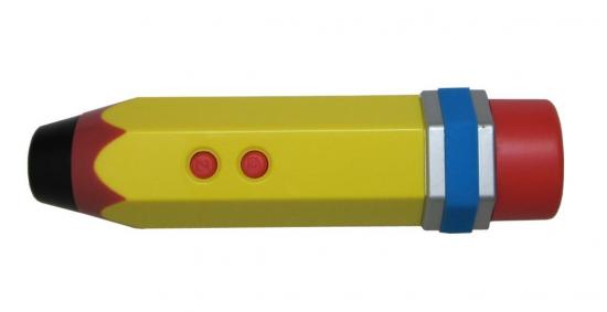 Pencil Micorscope (via Present & Correct)