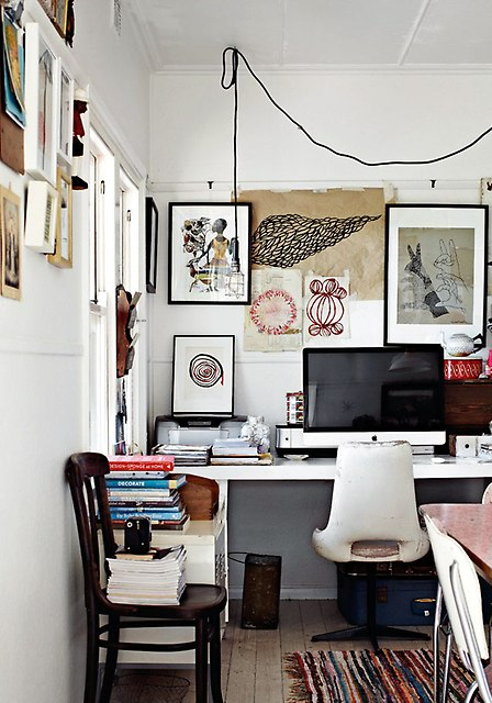 Organized clutter via Photo Forum