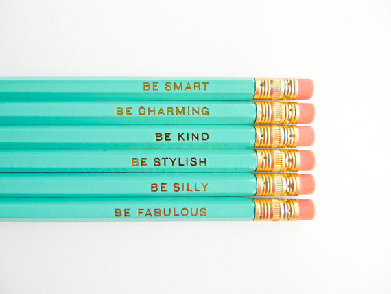 Gentle Reminders Pencil Set