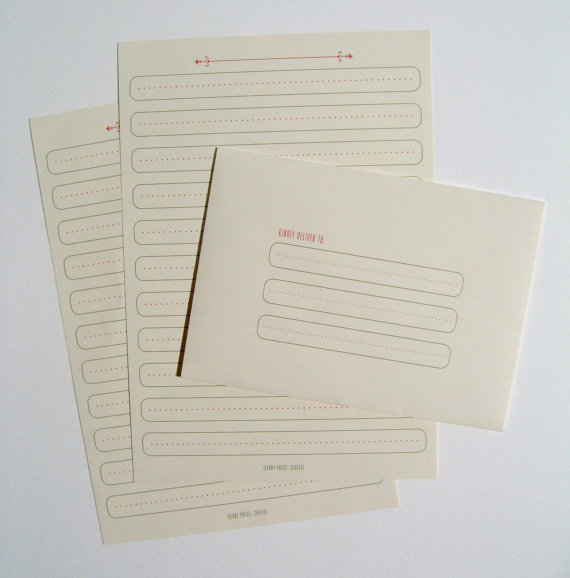 Ilfant letter set
