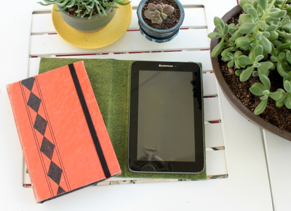 DIY Vintage Book Tablet Covers