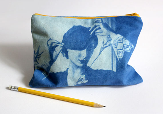 DIY Inkodye photo transfer pencil case (via Etsy Blog)