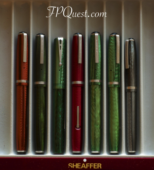 This week, FPQuest inked up a fabulous collection of vintage Esterbrooks. So many lovely examples!