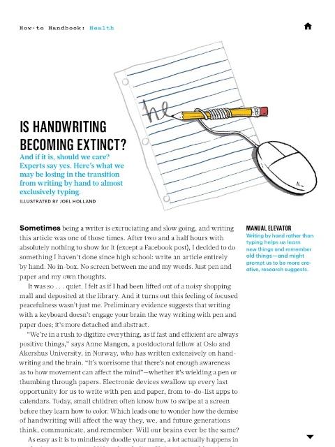 MS Handwriting Extinct 1