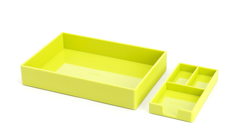 $14 for set of two trays (via Poppin)