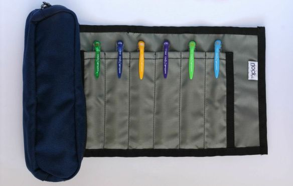 The Brasstown: Zippered roll case