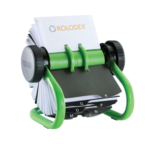 Rolodex Green