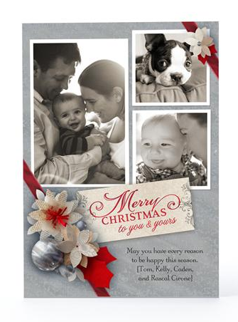 Hallmark Personalized Holiday Card
