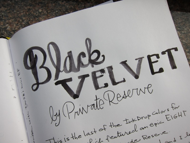Private Reserve Black Velvet