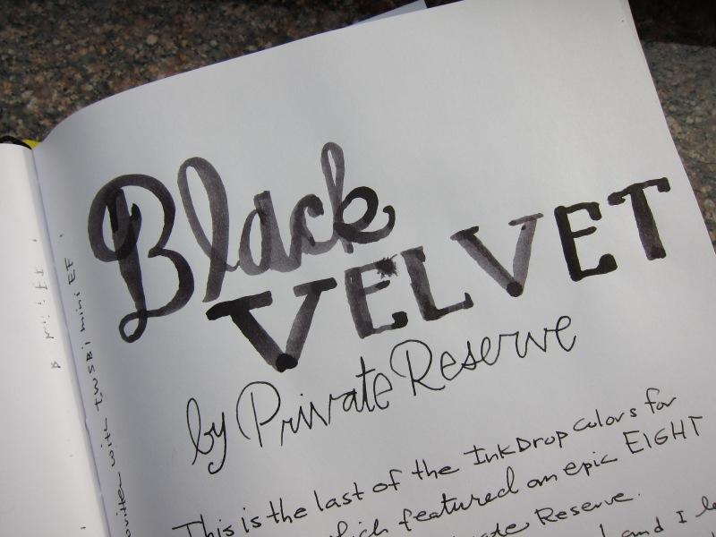 Private Reserve Black Velvet