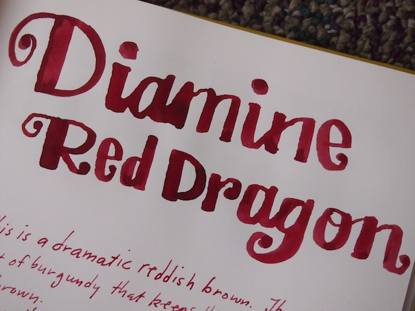 Diamine Red Dragon review