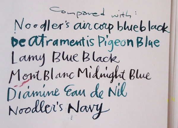 Private Reserve Ebony Blue Comparisons