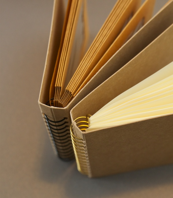Midori Pocket and Envelope Spriral Notebooks