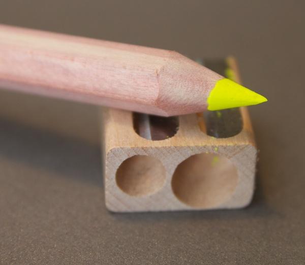 Stubby Pencil Studio Highlighter Pencils sharpened