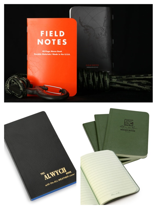 weatherproof notebooks