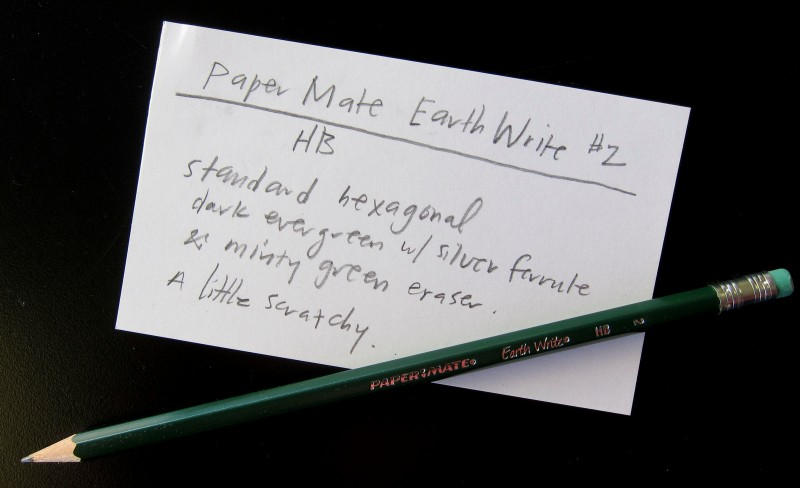 Paper Mate Earth Write Pencil