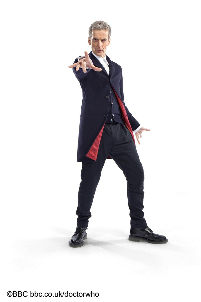 Peter Capaldi as the 12th Doctor