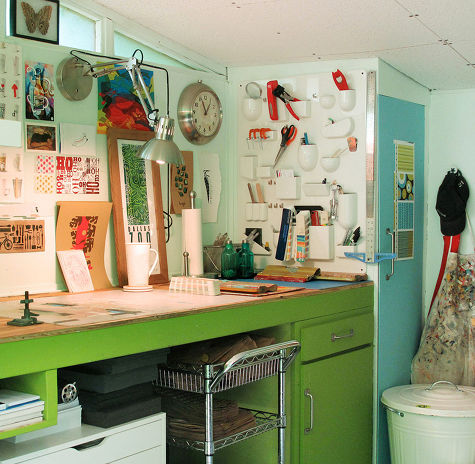 green workbench