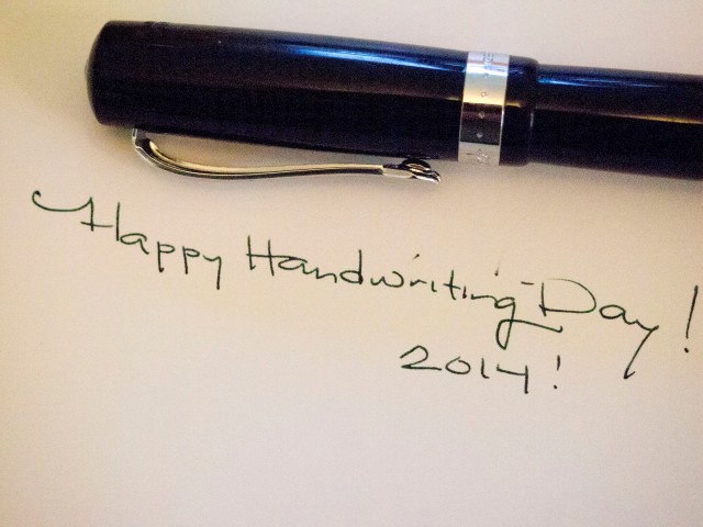 Happy Handwriting Day