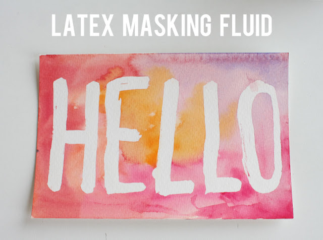 Liquid Masking Fluid demo (via Comic Tools)