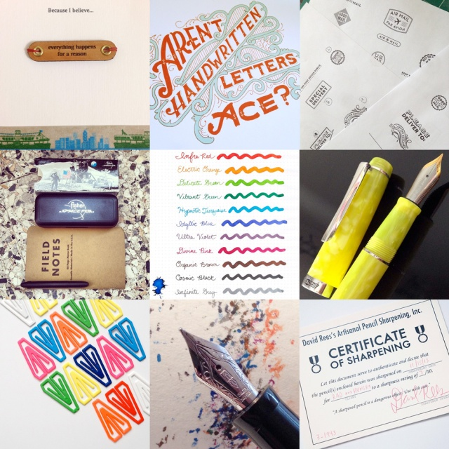 Image credits (clockwise from top left: Noyolajose, Mary Kate McDevitt, Tuesday Next [that's me!],  FPGeeks, Rad And Hungry, MyCoffeePot, Rad And Hungry,  Elltbr, and GouletPens)