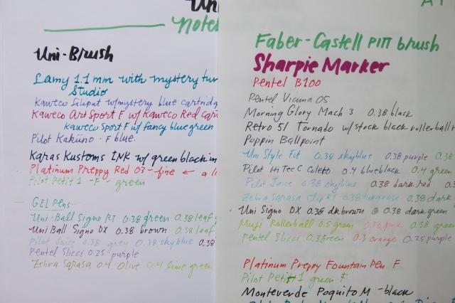 Rhodia Pad vs. Campus Pad