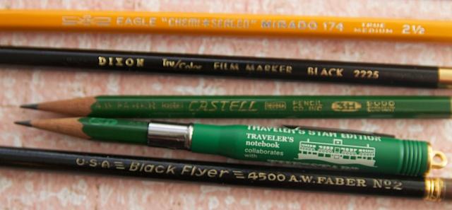Vintage Pencils