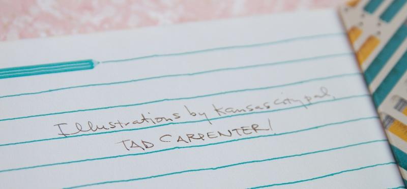 Tad Carpenter Typewriter Notebook